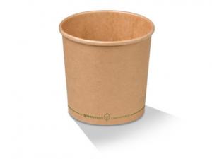 Kraft Paper Bowl & Paper Lids
