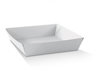 Corrugated White Trays