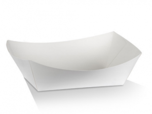 White Cardboard Trays